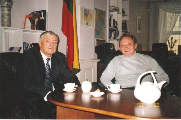 Sigitas Kudarauskas, Rimantas Tonkūnas, 2001