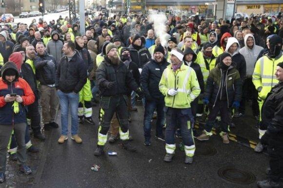 2019 metų gruodį Kopenhagos Norebro rajone įvykęs incidentas