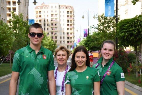Martynas Pabalys, Asta Girdauskiene, Daniela Aleksandravičiūtė ir Indrė Marija Girdauskaitė