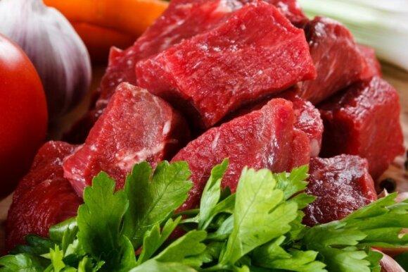 """Geriausia """"namine"""" mėsa laikoma pagal lietuvių tradicijas – jautiena"""