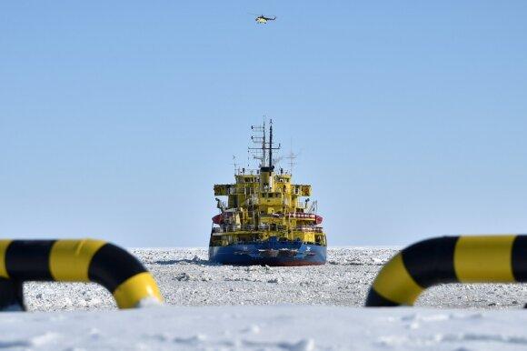 Kovoje dėl Arkties Rusija – agresyviausia