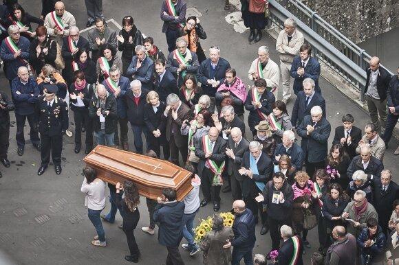 Lea Garofalo laidotuvės