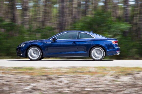 """""""Audi A5 Coupe"""" taiko į įvaizdinį segmentą"""