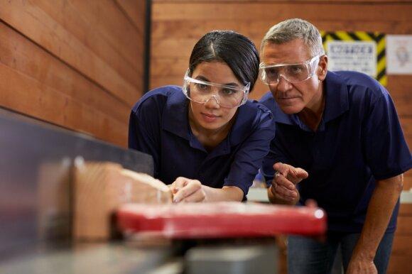 Pagalba verslui: informacija apie profesinių mokyklų tinklą ir jų teikiamas paslaugas – vienoje vietoje
