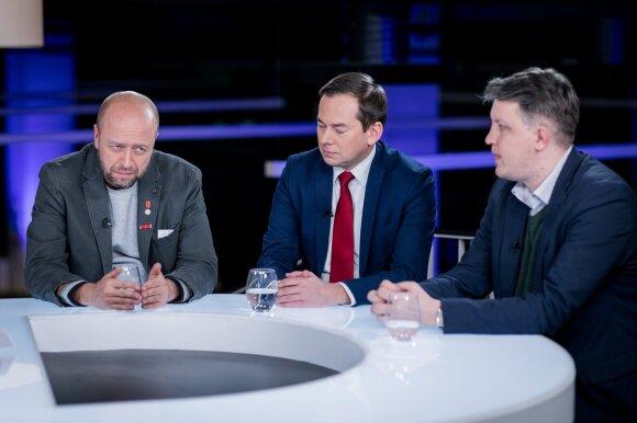 Jonas Ohman, Arnoldas Pranckevičius ir Vaidas Saldžiūnas