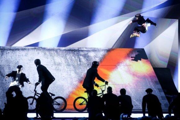 """Antrasis """"Eurovizijos"""" pusfinalis"""