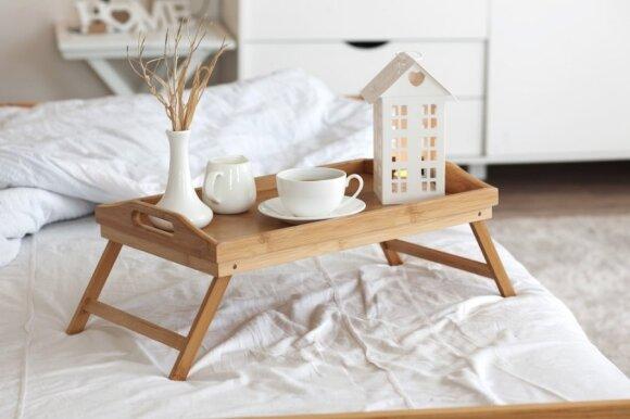 Interjero gudrybės: kaip sukurti jaukų miegamąjį