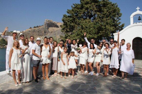 Kauniečių vestuvės buvo didelės, storos ir graikiškos