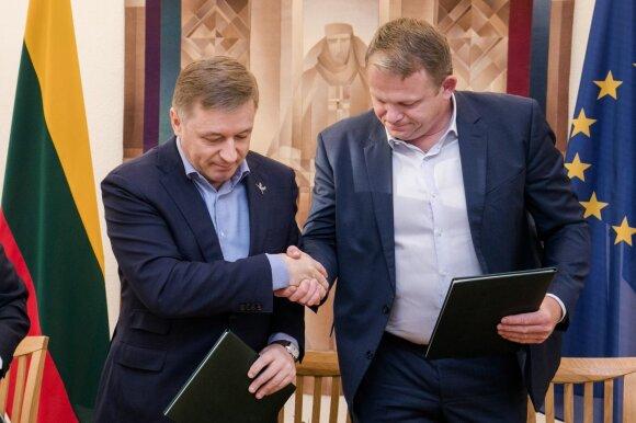 Ramūnas Karbauskis, Andrius Palionis