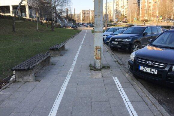 Dviračių takai Vilniuje