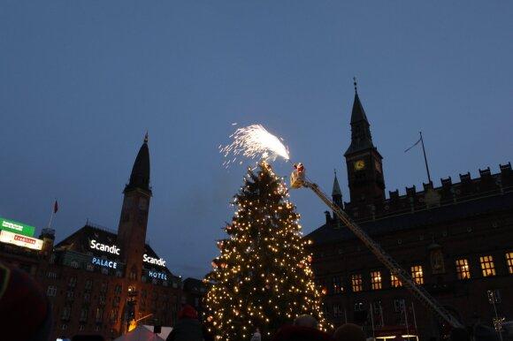 Kalėdų eglė Kopenhagoje