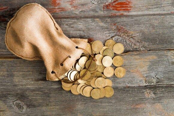 Pinigai: kaip jų turėti daugiau