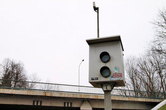 Karas greičio mėgėjams: parodė, kur Vilniuje bus įrengti nauji greičio matuokliai