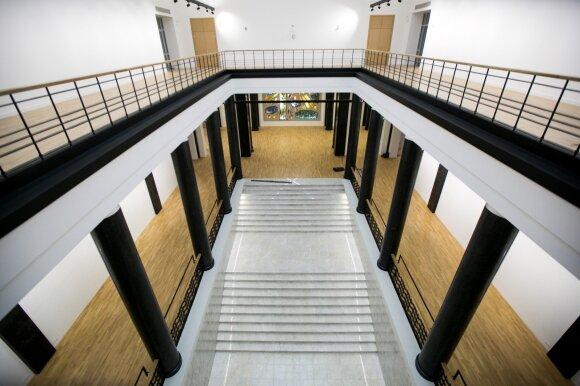 Rekonstruota Nacionalinė M. Mažvydo biblioteka