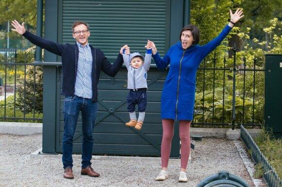 Atviras interviu: gimęs vaikas aktorių šeimoje pakoregavo gyvenimo būdą