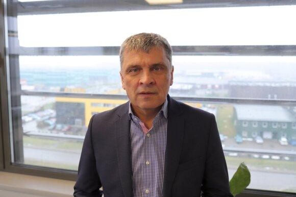 Kauno Laisvosios ekonominės zonos (LEZ) valdymo bendrovės generalinis direktorius Vytas Petružis.