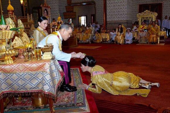 Tailando karaliaus Maha Vajiralongkorno gyvenimas