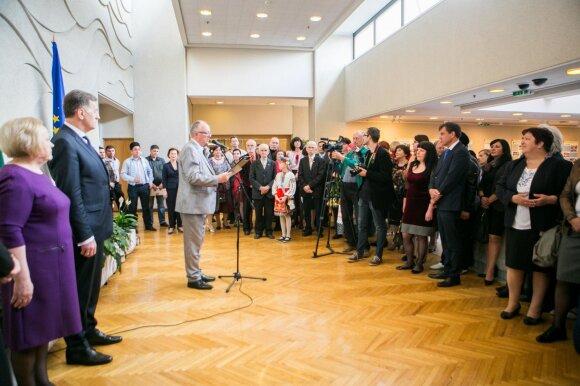 Буткявичюс - национальным общинам: мы стояли у основ независимости Литвы