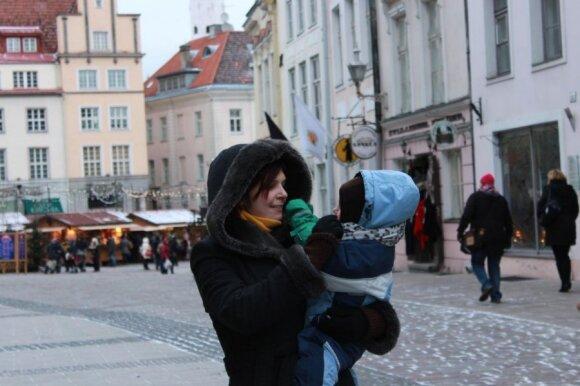 Su mažu vaiku į Taliną: vienos šeimos patirtis