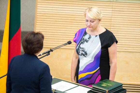 R. Budbergytė: su mokestiniais sukčiais reikia kovoti baisiau nei G. Vagnoriaus laikais