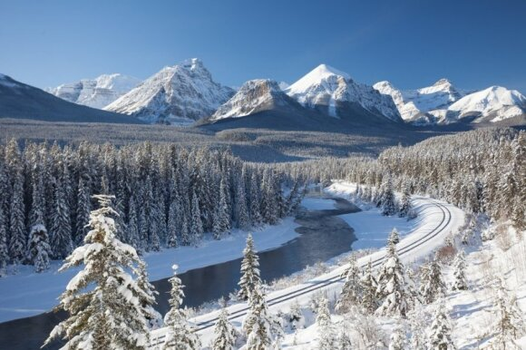 Banfo nacionalinis parkas, Kanada