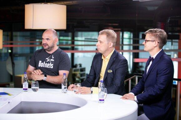 Marius Pareščius, Andrius Baranauskas, Paulius Martinkus