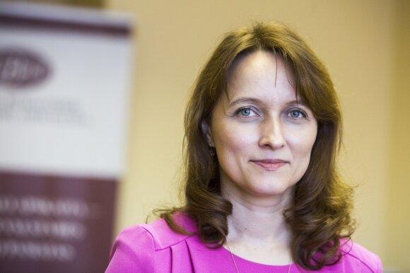 Lietuvos buhalterių ir auditorių asociacijos pirmininkė Daiva Čibirienė