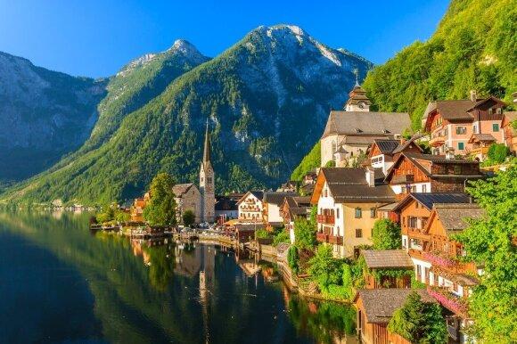 Hallstatt, Austrija