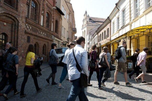 Atėjus pigių skrydžių bendrovėms turistai Vilniaus neužtvindė