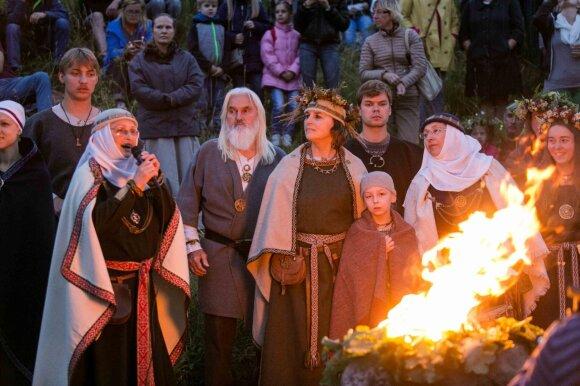 Rasų šventė Kernavėje