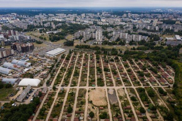 Vilniaus garažų masyvų vietose iškils daugiabučiai ir parduotuvės, atsiras kempingas
