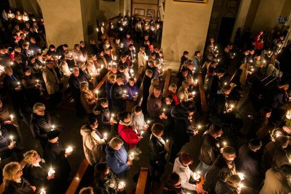 Velyknakčio liturgija Vilniaus Arkikatedroje