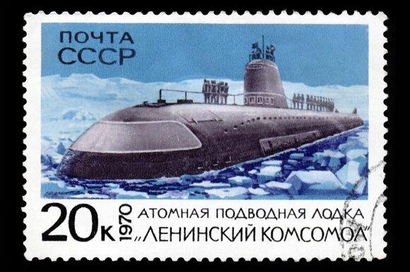 Sovietų povandeninio laivo katastrofa: vos per kelias minutes gyvi sudegė 38 žmonės