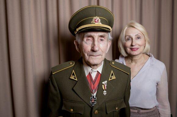 Juozas Jakavonis - Tigras ir Angelė Jakavonytė-Rukštelienė