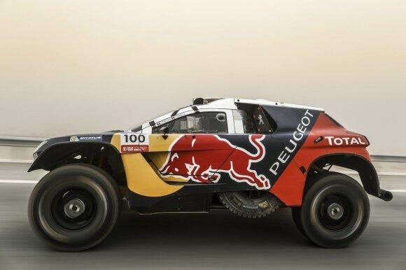 """Harry Huntas startuos su pernai nugalėjusiu """"Peugeot DKR2008"""""""