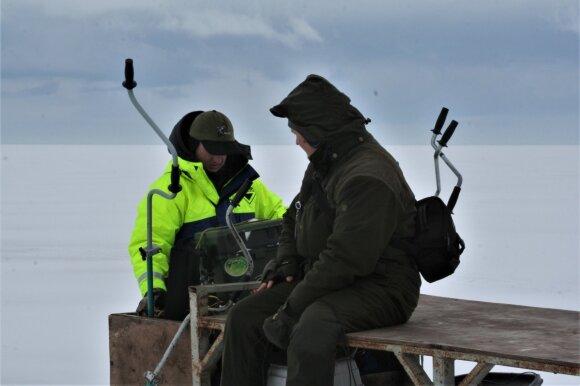 Žvejai prie Kuršių marių