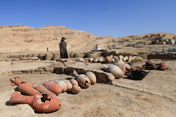 """3 000 metų senumo """"dingęs miestas"""" gali tapti nauju impulsu Egipto turizmui"""