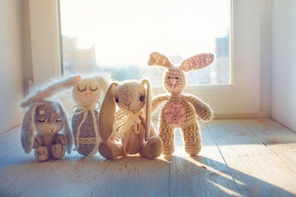 Zuikių šeima (asociatyvi nuotrauka)