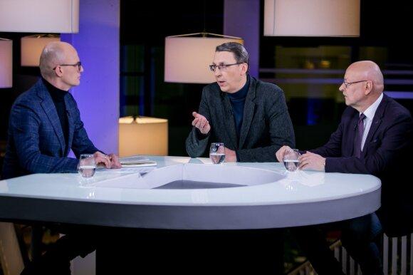 Edmundas Jakilaitis, Vytautas Briuveris ir Rimvydas Valatka