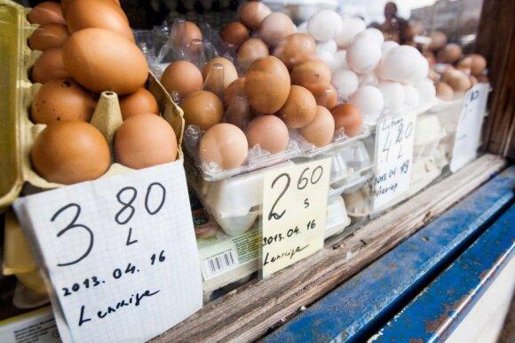 Kaip patikrinti, ar kiaušinis šviežias