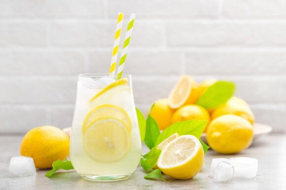 Naminis citrininis limonadas