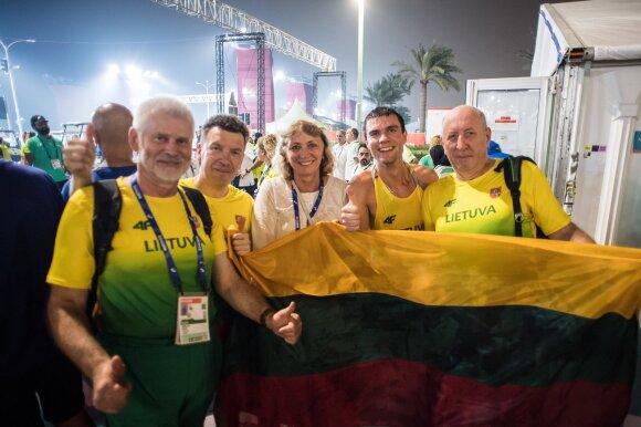 Pasaulio lengvosios atletikos čempionatas. 20 km sportinis ėjimas. Marius Žiūkas