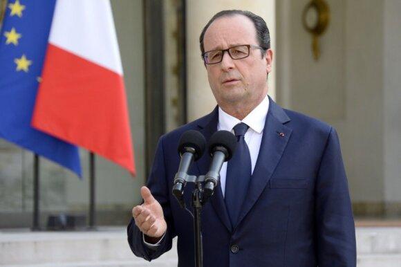 Prancūzija pateikė sąlygas Rusijai