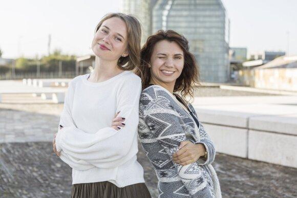 Miglė Makuškaitė ir Laura Prievelytė-Juknė