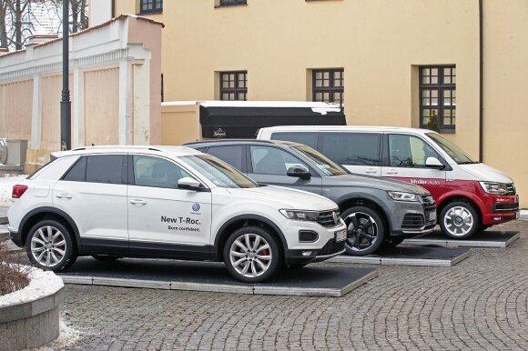 """""""Volkswagen"""" ir """"Audi"""" pardavėjai mūsų krašte pažymėjo geriausius metus istorijoje"""