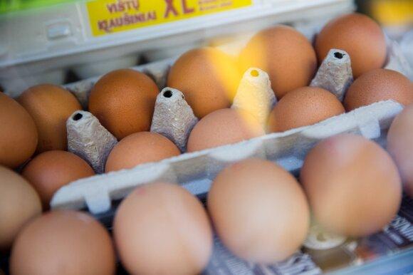 Kiaušiniai turguje