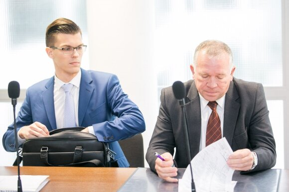 """""""Lietuvos draudimo"""" atstovai"""