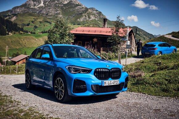 BMW hibridinės versijos