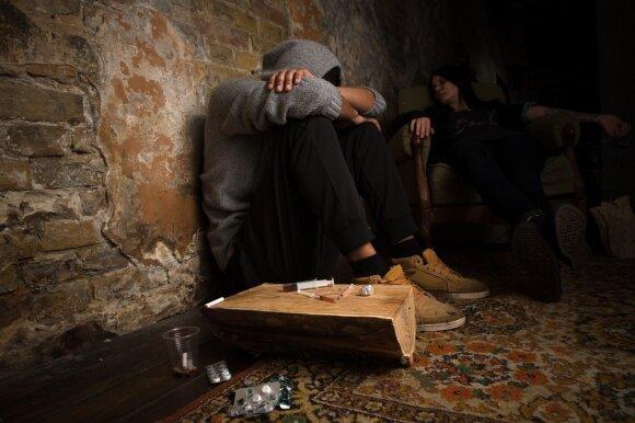 Priklausomybė nuo narkotikų