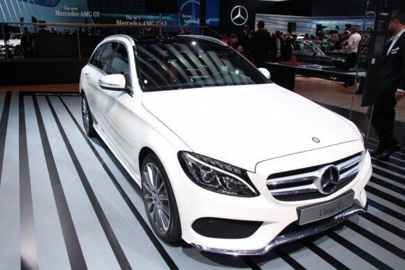 Mercedes-Benz C-klasės universalas